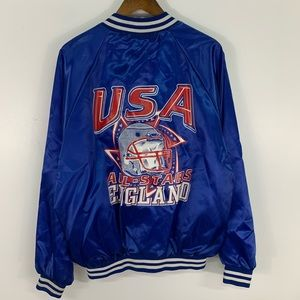 Vintage USA All Stars England Varsity Jacket